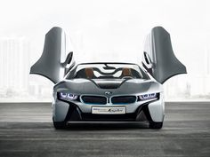 At the 2012 Beijing Auto Show, German luxury car maker BMW will showcase a glimpse of the future in the form of the Spyder convertible supercar. The droptop Spyder supercar will be showcased … Bmw I8, Super Sport Cars, Super Cars, Celebrity Cars, Car Hd, New Bmw, Car Wallpapers, Wallpaper Backgrounds, Bmw Concept