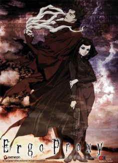 Ergo Proxy. Sci-fy. Mind bender. Post apocalyptic world. Really loved this anime. Even though I had no idea what was going on the majority of the time. I think Ill need to rewatch to understand it. Design by http://photo-sharpen.com