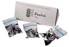 "Probierbox ""White"" Triple von Feelino: https://www.blissany.com/probierbox-triple-feelino-white.html"