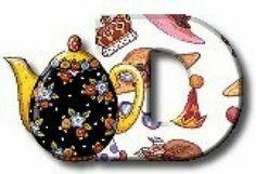 Tea Party Letter D