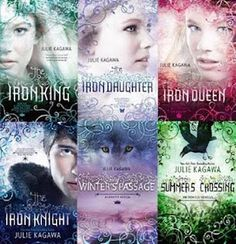 Iron Fey series by Julie Kagawa - Absolutely loved this series; kind of reminded me of the Labyrinth in that she goes to another world to get her younger brother back lol But because I love that movie, it only raised my adoration of this series more lol :)