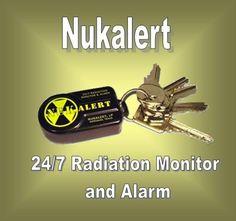 Nukalert - Keychain Radiation Monitor and Alarm