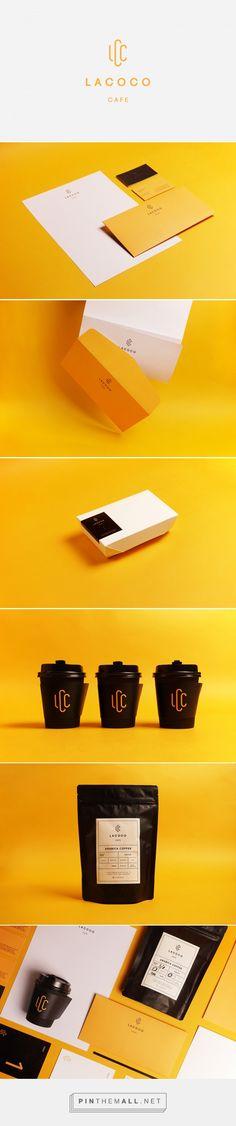 Lacoco Cafe Branding by Studio Akronim   Fivestar Branding Agency – Design and Branding Agency & Curated Inspiration Gallery #cafe #cafebranding #branding #print #logo #brand #design #coffeecupdesign #behance #dribbble #pinterest #fivestarbranding