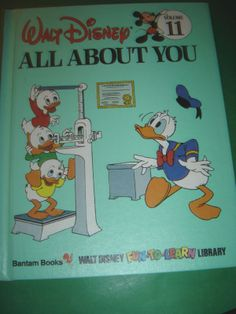 WALT DISNEY ALL ABOUT YOU ~ 1983 HARDCOVER BOOK #Kids #Book