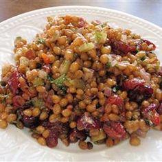 Wheat-Berry Salad Allrecipes.com