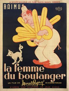 vintage posters La Femme Du Boulanger by vintageposters, via Flickr