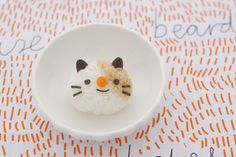 cat rice ball