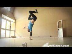 Cool Break Dancing Yoga >> This kid blows my mind!