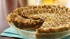 Enjoy this peanut butter filled dessert pie baked using Pillsbury® refrigerated pie crusts – a wonderful treat.