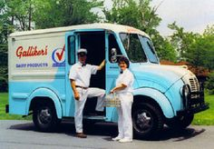 We had the best milk man!  Remember when Milk was delivered to the house every morning in Glass Bottles?