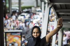 Thailand Turns 'The Hunger Games' Salute Into Real Form of Rebellion