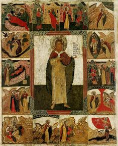Typical Russian, Russian Icons, Church Interior, Byzantine Art, Religious Art, Ikon, Christianity, Medieval, Bible