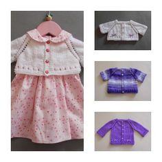 Maxine Baby Cardigan - Mini, Midi, Maxi | AllFreeKnitting.com