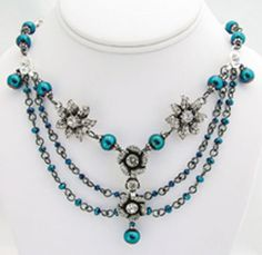 Cobalt Serenade Necklace
