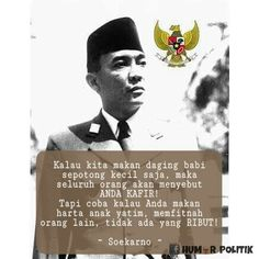 Ir. Soekarno Good Day Quotes, Best Quotes, Quotes By Famous People, People Quotes, Soekarno Quotes, Qoutes, Life Quotes, Self Reminder, Quotes Indonesia