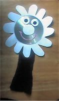 Here is how you can make your own daisy puppet.