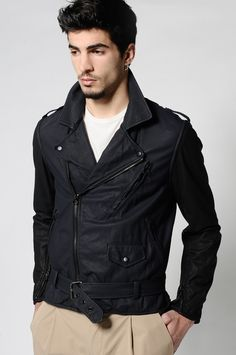 Philip Lim Lambskin rider's jacket, SS12