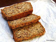 Wieloziarnisty chleb gryczany. Bez mąki, bez drożdży i zakwasu. Prosty, zdrowy i pyszny