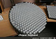 lustiges Bild 'Chinesische Tastatur.jpg'- Eine von 21928 Dateien in der Kategorie 'witzige Bilder' auf FUNPOT.