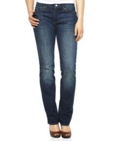 Levi's® Perfect Waist Straight Fit Denim Blue Jeans For Women Levis Jeans, Jeans Fit, Denim, Blue Jeans, Fashion Identity, Designer Jeans For Women, Petite Jeans, Legs, My Style