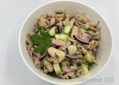 Салат с белой фасолью и тунцом Potato Salad, Food And Drink, Potatoes, Dishes, Cooking, Ethnic Recipes, Easy, Youtube, Diet