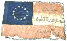 11th Louisiana Infantry Regiment Flag -  Major E. G. W. Butler,  Eleventh Louisiana Infantry, was killed leading his men in a charge at the battle of Belmont, Mo., November 7, 1861