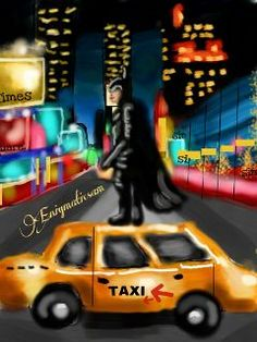 Batman in Times Square! Picsart, Times Square, Batman, Image Collection, Jay, Monster Trucks, Challenges, Lights, Drawings