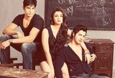 Who is your Crush of the Year?  a. Siddharth b. Alia c. Varun