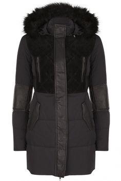 Onyx Coat Zwart