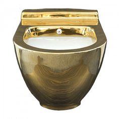 Toaleta myjąca z bidetem złota z czarną deską w komplecie Harmony MA 5201 Decorative Bowls, Home Decor, Homemade Home Decor, Interior Design, Home Interiors, Decoration Home, Home Decoration, Home Improvement