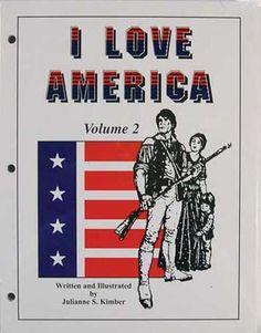 I Love America: lessons for teaching kids to love America