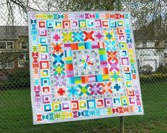 Image of AVIATRIX MEDALLION pdf quilt pattern