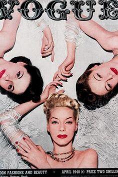 Vintage Vogue 1940s