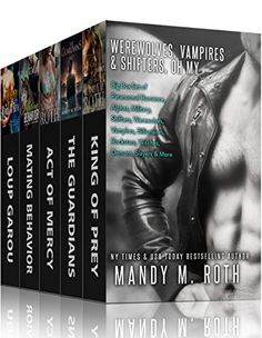 Werewolves, Vampires and Shifters, Oh My: Big Box Set of Paranormal Romance, Alphas, Military, Shifters, Werewolves, Vampires, Billionaires, Rockstars, Witches, Demons, Slayers & More by Mandy M. Roth http://www.amazon.com/dp/B00RDO7O0U/ref=cm_sw_r_pi_dp_d7ecwb1ZNEQ9D