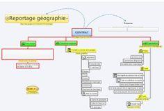 Organiser un travail de géographie avec une carte conceptuelle en CM2
