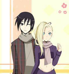 Sai and Ino. / SaiIno