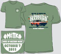Georgia State University Dukes of Hazzard Mixer T-Shirt
