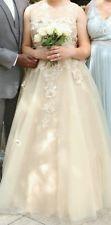 Plus size 16 vintage style Wedding dress retail $1,400