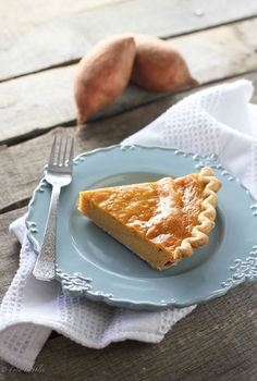 Sweet Potato Pie - FoodBabbles.com