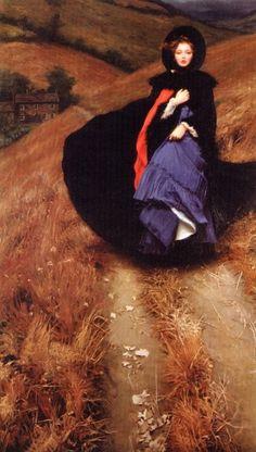 "Gives me that ""Jane Eyre"" feeling...by Heidi Oberheide (b. 1943)"