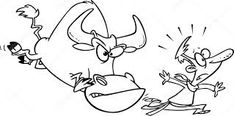 Image result for running away from bull drawings Running Away, Moose Art, Drawings, Animals, Image, Bubbles, Animales, Animaux, Sketches