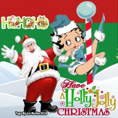 Christmas Blessings, Christmas Greetings, Merry Christmas, Xmas, Naughty Santa, New Year Wishes, Betty Boop, Christmas And New Year, Picture Quotes