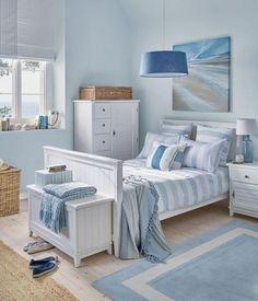 Beach Coastal Style Bedroom Decor Ideas