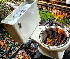 Every man needs a Peckerhead Cooler/Grill/Crapper! Smell that smoke... °@° MisterPeckerhead.com #FunnyPic #FunnyMeme