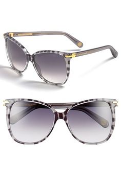 MARC JACOBS Sunglasses in Leopard Honey - available at #Nordstrom