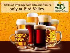 Enjoy sundown parties in Pimple Saudagar and Chinchwad with refreshing beverages at Bird Valley garden restaurants   Pune