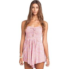 Billabong Juniors You Had Me Romper Lavender Large >>> Find out more about the great product at the image link.