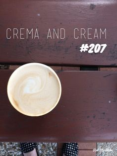 Crema and Cream. Brisbane. 365 coffees. 365 cafes. 365 days.