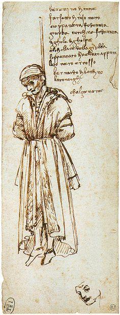 Ophanging van Bandini, door Leonardo da Vinci
