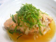 ☆大葉+玉ねぎ+大根おろしであっさり鮭☆ by maki_ppe [クックパッド] 簡単おいしいみんなのレシピが221万品